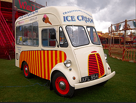 Mick Jagger's £100,000 Bid For a J-type Ice Cream Van